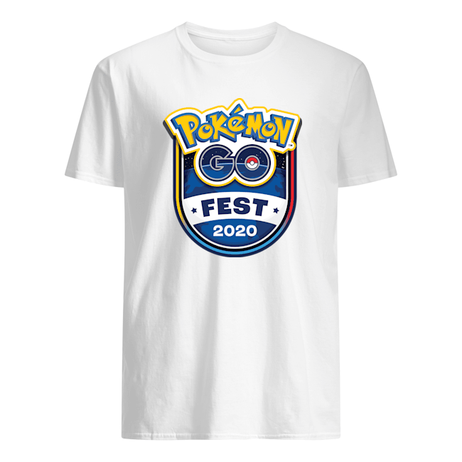 pokemon go fest t shirt 2020