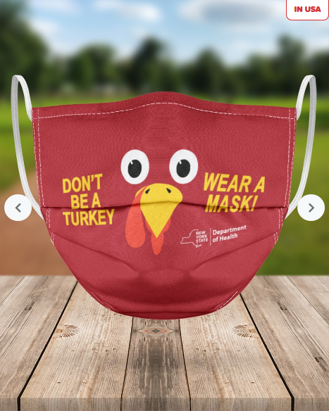 Don't be a turkey mask
